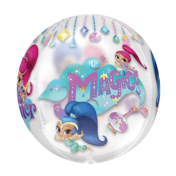 Shimmer-amp-Shine-Party-Birthday-Party-Decorations-Tableware-Favours-Balloon thumbnail 15