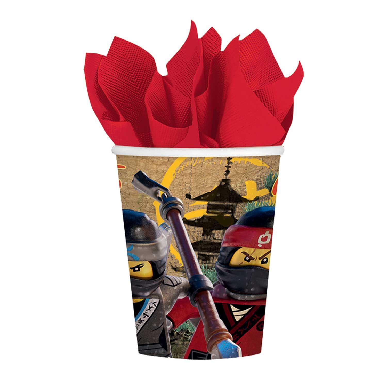 Lego-Ninjago-Movie-Party-Children-039-s-Supplies-  sc 1 st  eBay & Lego Ninjago Movie Party Children\u0027s Supplies Decorations Tableware ...