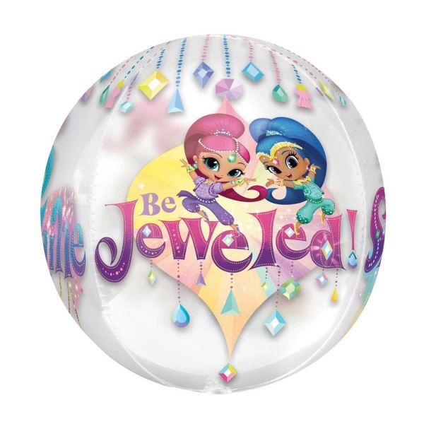 Shimmer-amp-Shine-Party-Birthday-Party-Decorations-Tableware-Favours-Balloon thumbnail 16