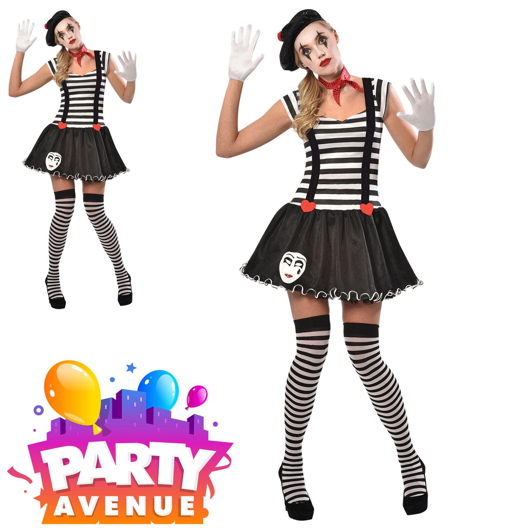 Donna Rainbow Stripe Leggings Clown Circo Carnevale Party Costume Accessorio