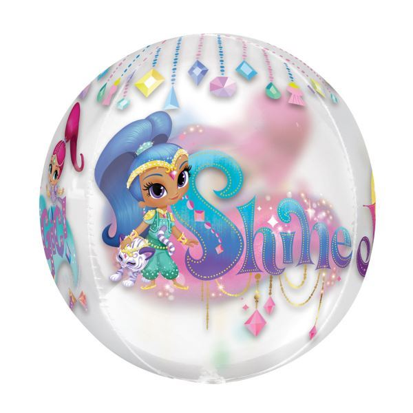 Shimmer-amp-Shine-Party-Birthday-Party-Decorations-Tableware-Favours-Balloon thumbnail 17