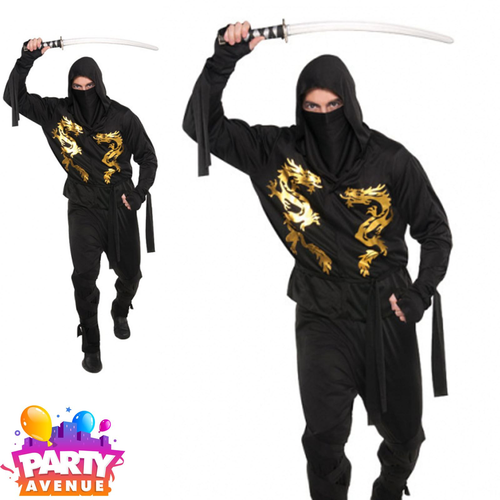 Mens End Zone Zombie Halloween Costume Fancy Dress Outfit Adult Standard SIze