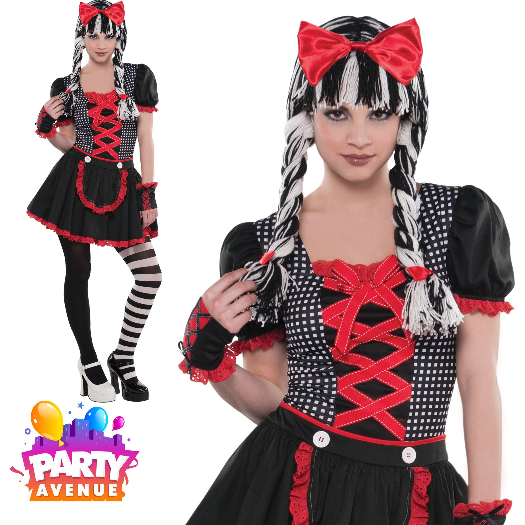 Halloween Costumes For Kids Girls 11 And Up.Details About Girls Teen Gothic Doll Halloween Marionette Costume