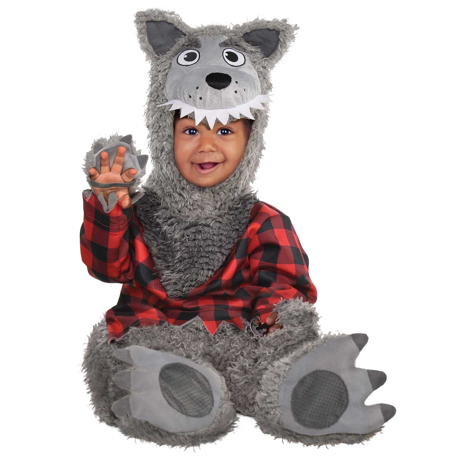 Baby-Lupo-Costume-Halloween-Horror-Lupo-Mannaro-Infant-Toddler-Costume-Vestito