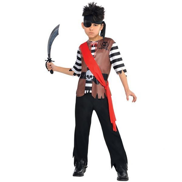 Boys-Pirate-Costumes-Fancy-Dress-Book-Week-amp-Accessories-Lot thumbnail 2