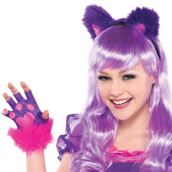 Cheshire Cat Alice In Wonderland Kids Teen Fairytale Fancy Dress Costume