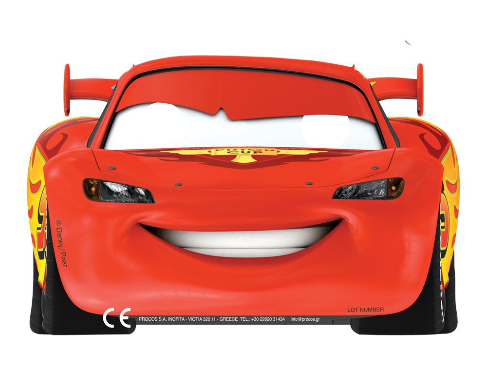 Disney Cars Boys Supplies Tableware Decorations Birthday Party Paper Masks X6 About This Product Picture 1 Of 2