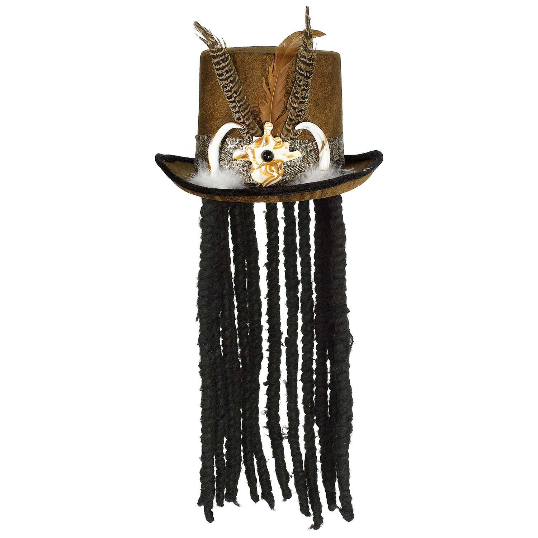 Mens Witch Doctor Halloween Costume Voodoo Fancy Dress ...