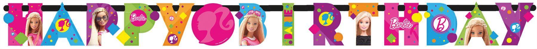Barbie-Sparkle-Cumpleanos-Fiesta-Decoraciones-Vajilla-favores-Globo
