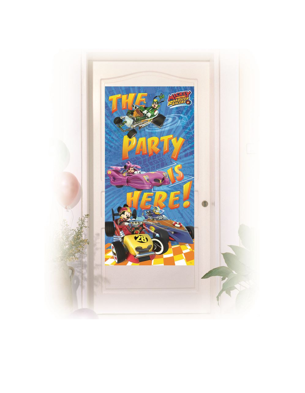 Disney-Mickey-Mouse-Party-Roadster-Racers-Birthday-Tableware-Decorations