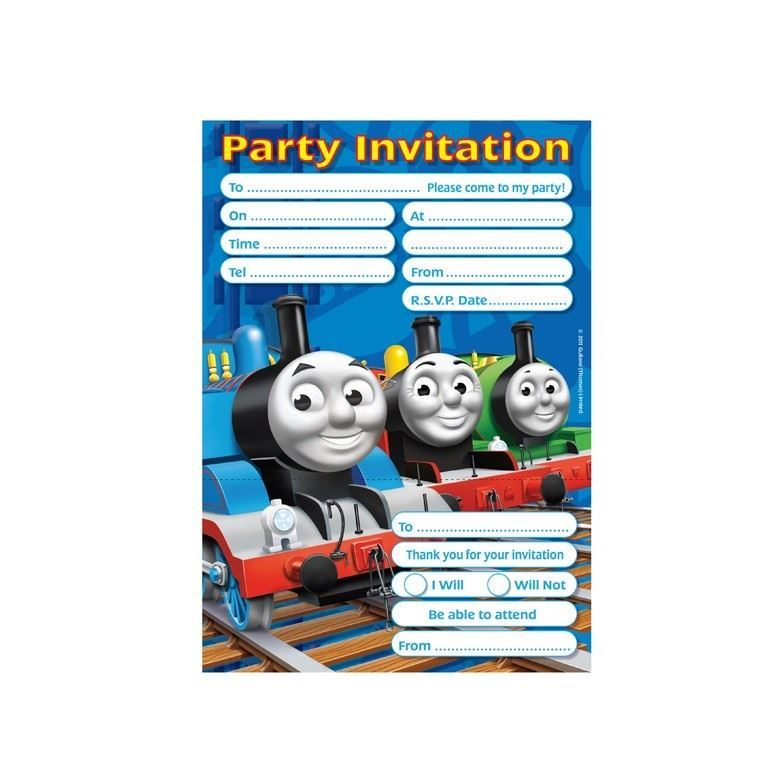 Thomas And Friends Party Tableware Decorations Balloons Favours | eBay