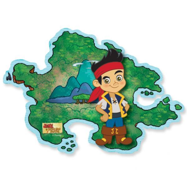 Jake The Neverland Pirates Tableware Party Decorations