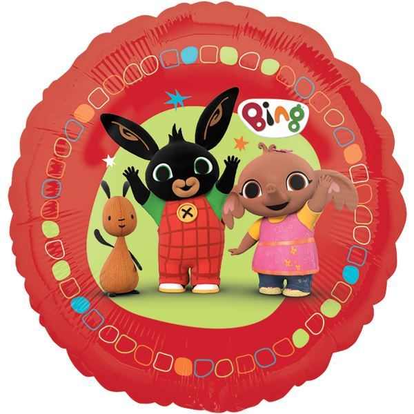 My Saves Bing: Bing Bunny Childrens Birthday Party Tableware, Favours