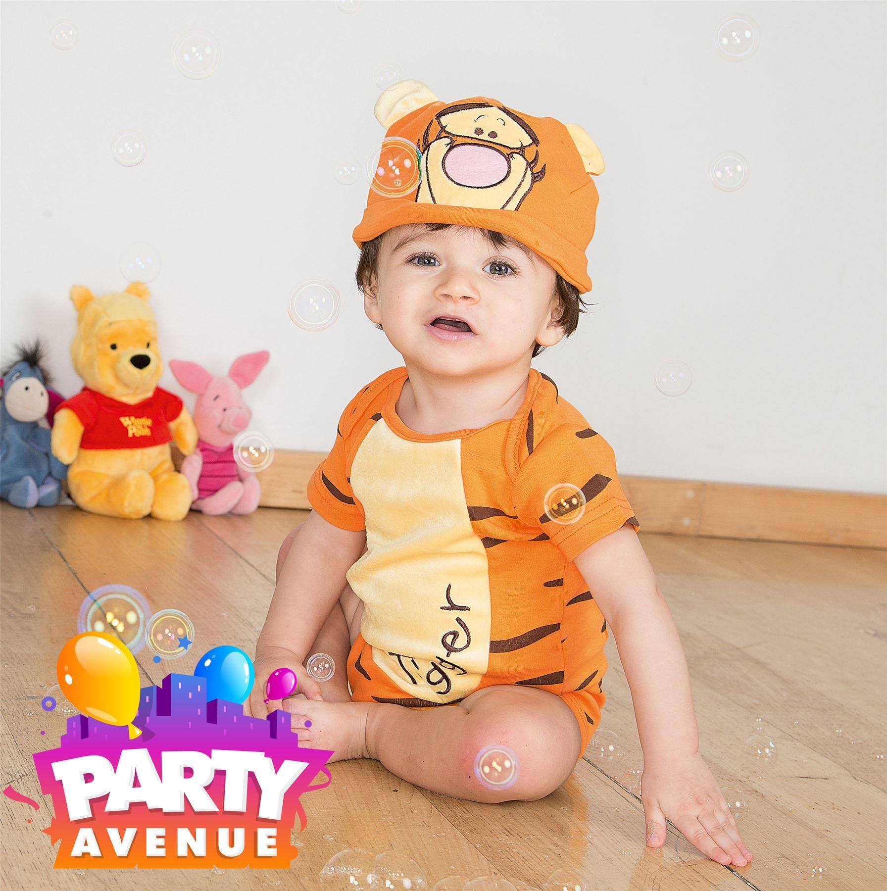 4441204cb Disney Baby Tigger Bodysuit Vest & Hat Toddler Babies Costume Outfit ...