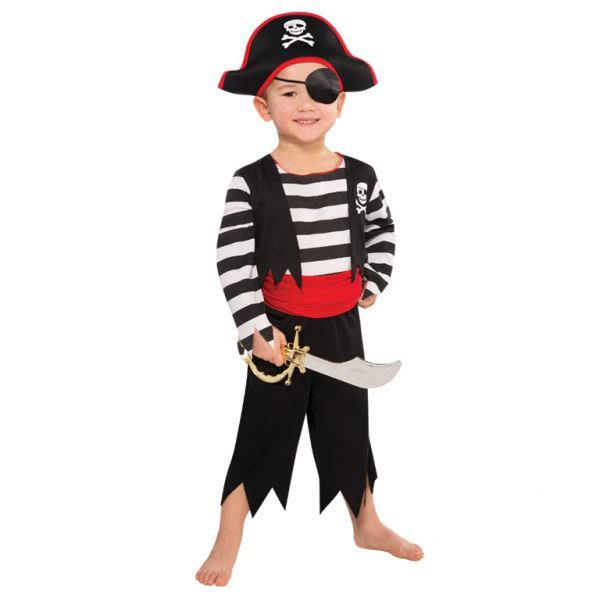 Boys-Pirate-Costumes-Fancy-Dress-Book-Week-amp-Accessories-Lot thumbnail 10