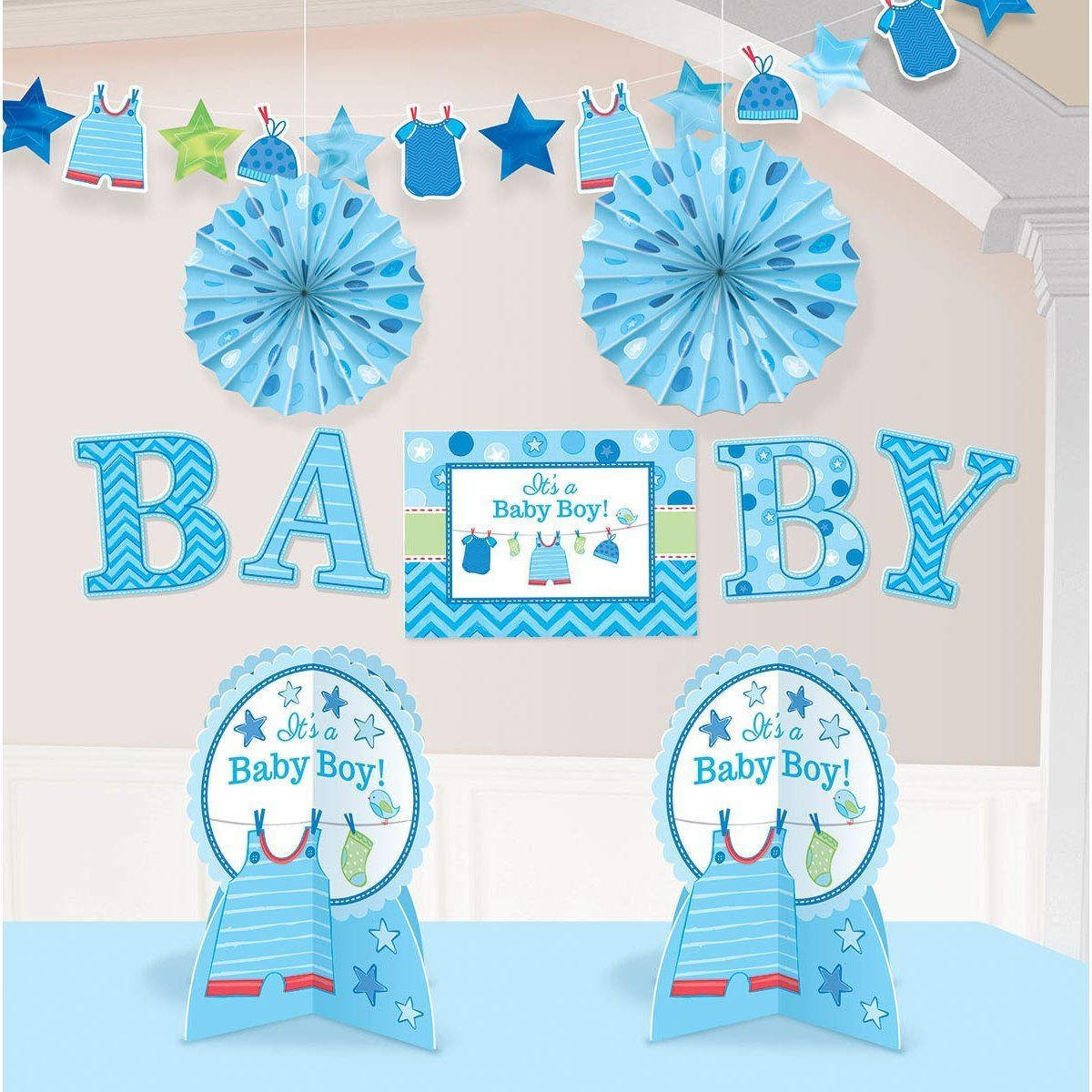 Generic Party Room Decoration Kit Baby Gender Reveal