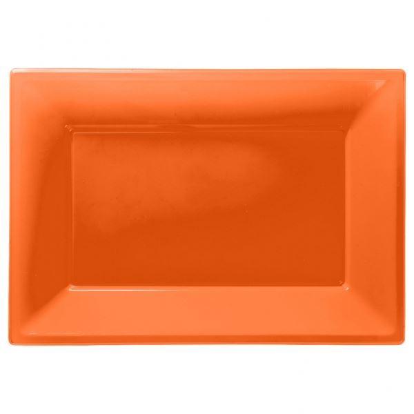 3-Colour-Plastic-Serving-Platters-Tray-33cm-x-  sc 1 st  eBay & 3 Colour Plastic Serving Platters Tray 33cm x 23cm Buffet Party ...