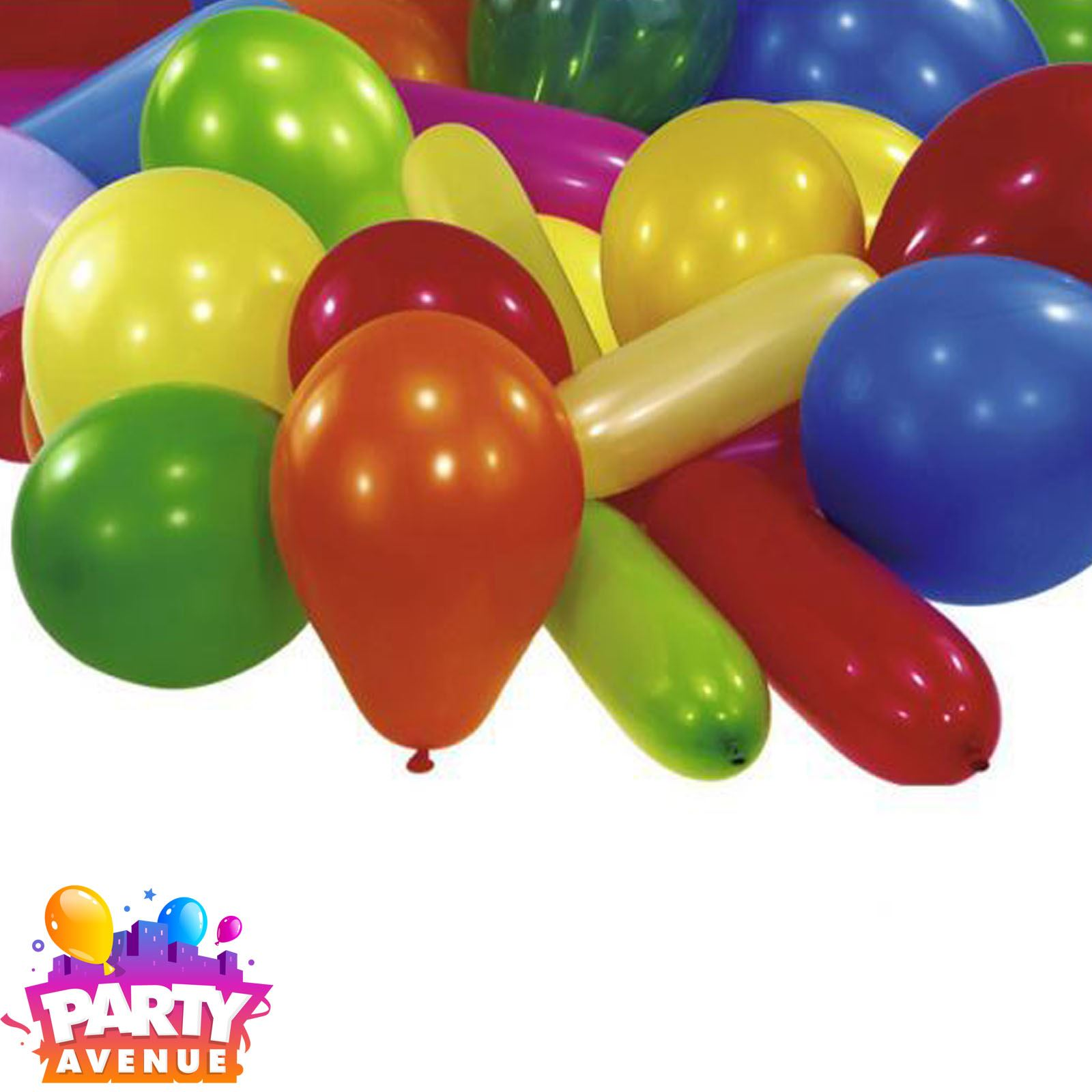 934c4e71a66b3 15pk Value Assorted Shape Balloons Birthday Celebration Party Decorations