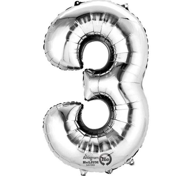 """Símbolo @ Globo Lámina De Plata 16/"""" 40cm Aire Llenar edad Nombre Cumpleaños Aniversario"""