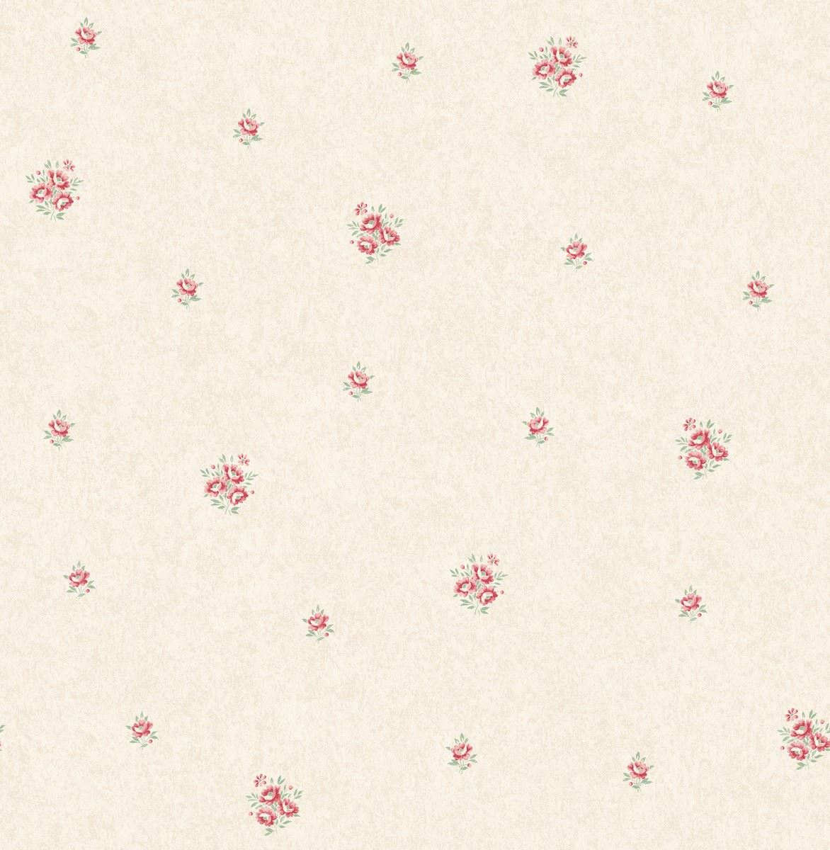 Flower Floral Wallpaper Pink Metallic Mica Shimmer Country Holden