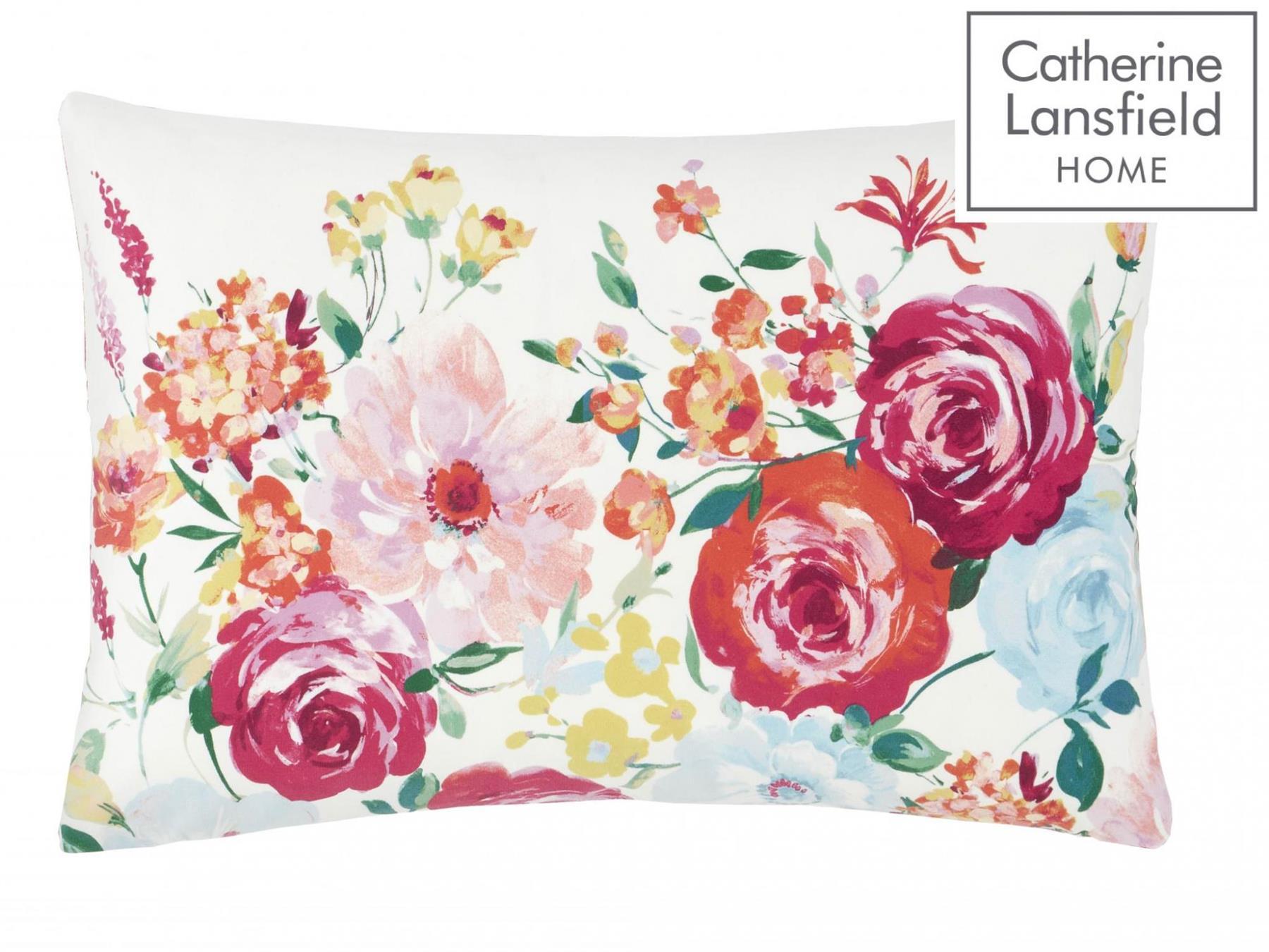 Catherine-Lansfield-biancheria-da-letto-Salisbury-Copripiumino-Set-Tende-Cuscino-Copriletto miniatura 20