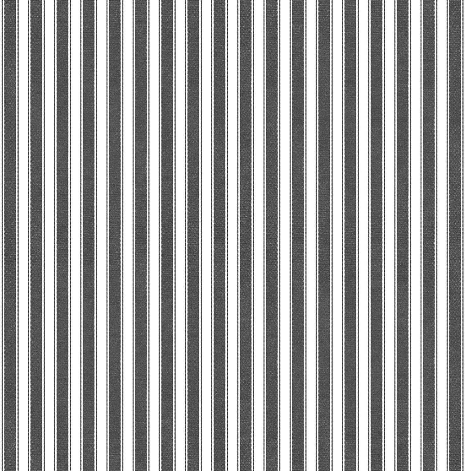 3 x Rolls Black White Barcode Stripe Wallpaper Vertical Feature Paste The Wall