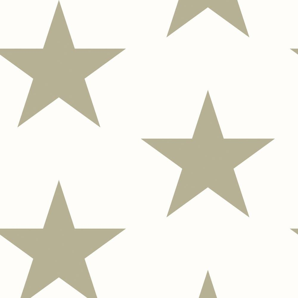 Details About Cream Gold Star Wallpaper Textured Glitter Starry Night Embossed Simple Arthouse