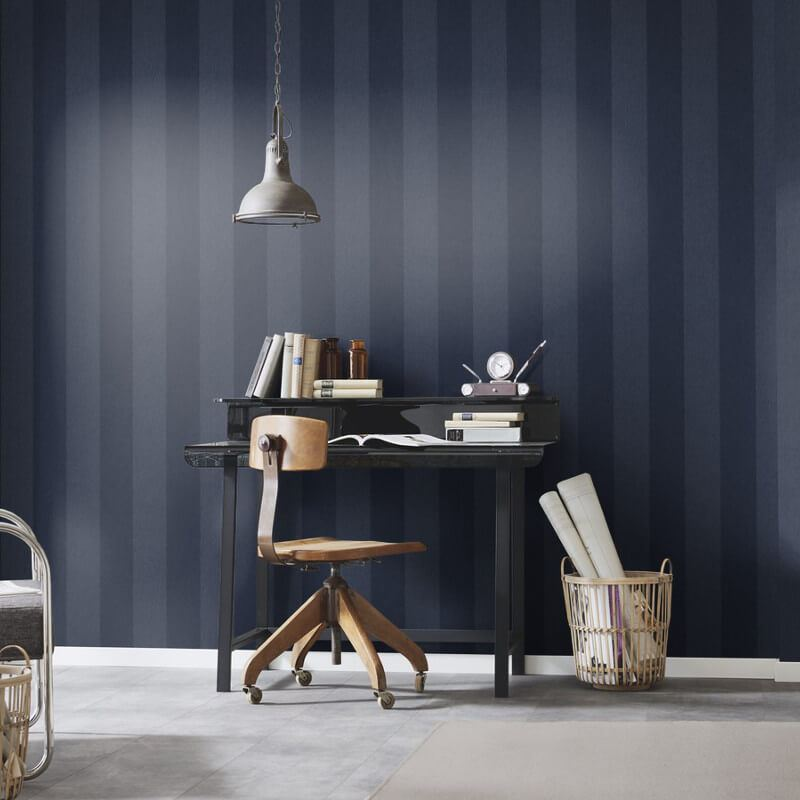 Stripe-Striped-Wallpaper-Paste-The-Wall-Luxury-Modern-4-Colours-Erismann thumbnail 3