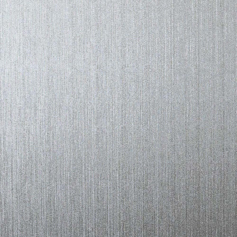 Metallic Wallpaper Foil Swirls Shiny Embossed Luxury Vinyl Black Silver Arthouse
