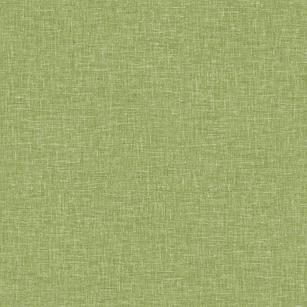 Linen Texture Moss Green Wallpaper Woven Effect Modern Feature Luxury Arthouse