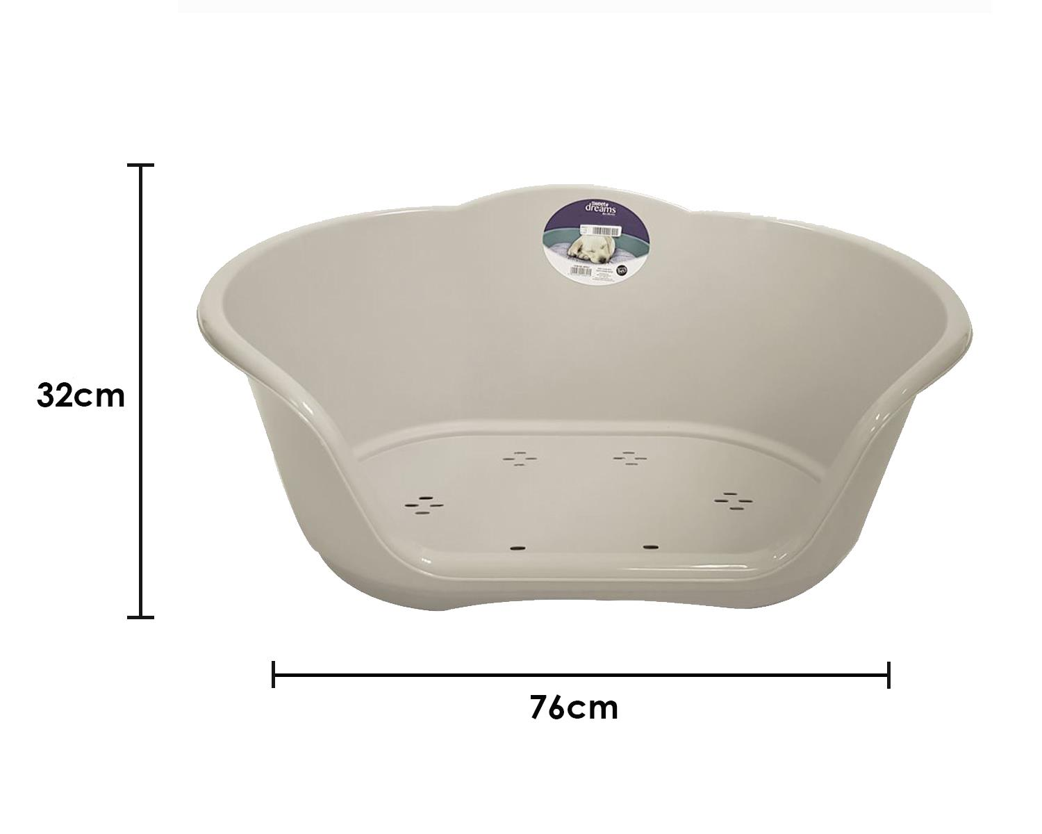 thumbnail 55 - Plastic-Dog-Bed-Heavy-Duty-Waterproof-Dog-Bed-Pet-Bed-Puppy-Cat-Cushion-Basket