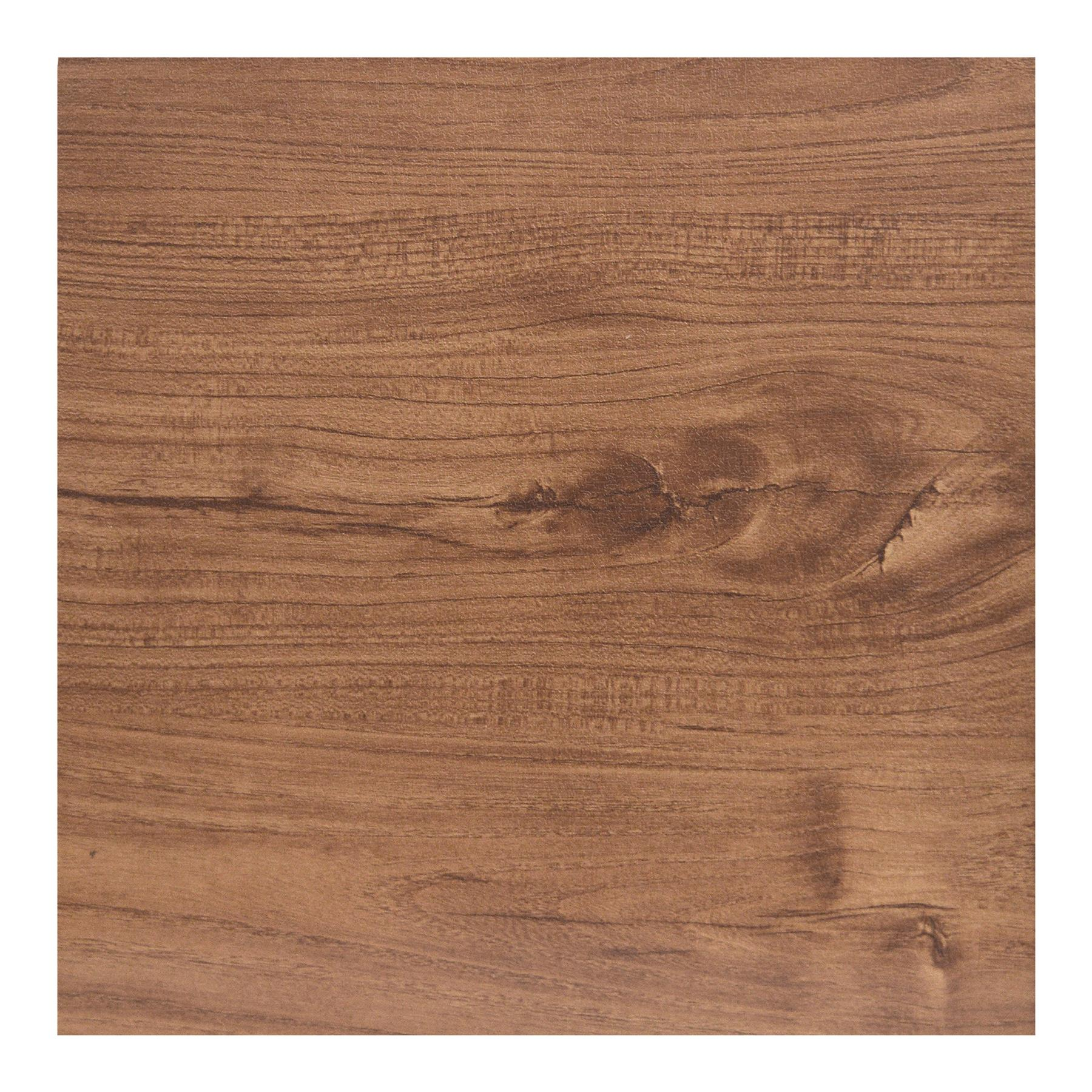 Floor-Tiles-Self-Adhesive-Vinyl-Flooring-Kitchen-Bathroom-Brown-Wood-Grain thumbnail 2
