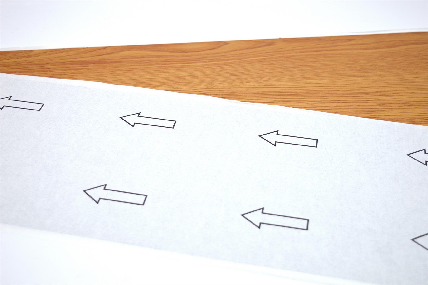 thumbnail 16 - Floor Planks Tiles Self Adhesive Vinyl Brown Wood Flooring Kitchen Bathroom