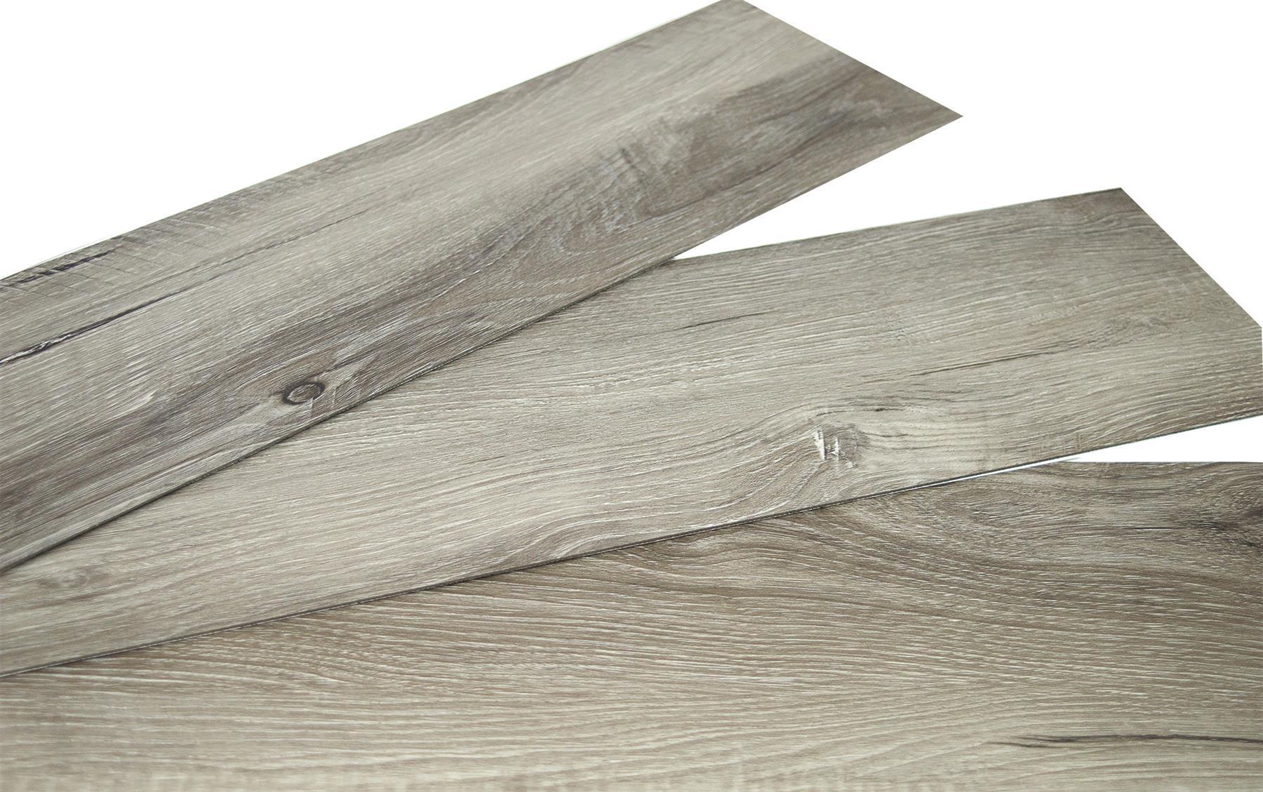 thumbnail 7 - Floor Planks Tiles Self Adhesive Dark Grey Wood Vinyl Flooring Kitchen Bathroom