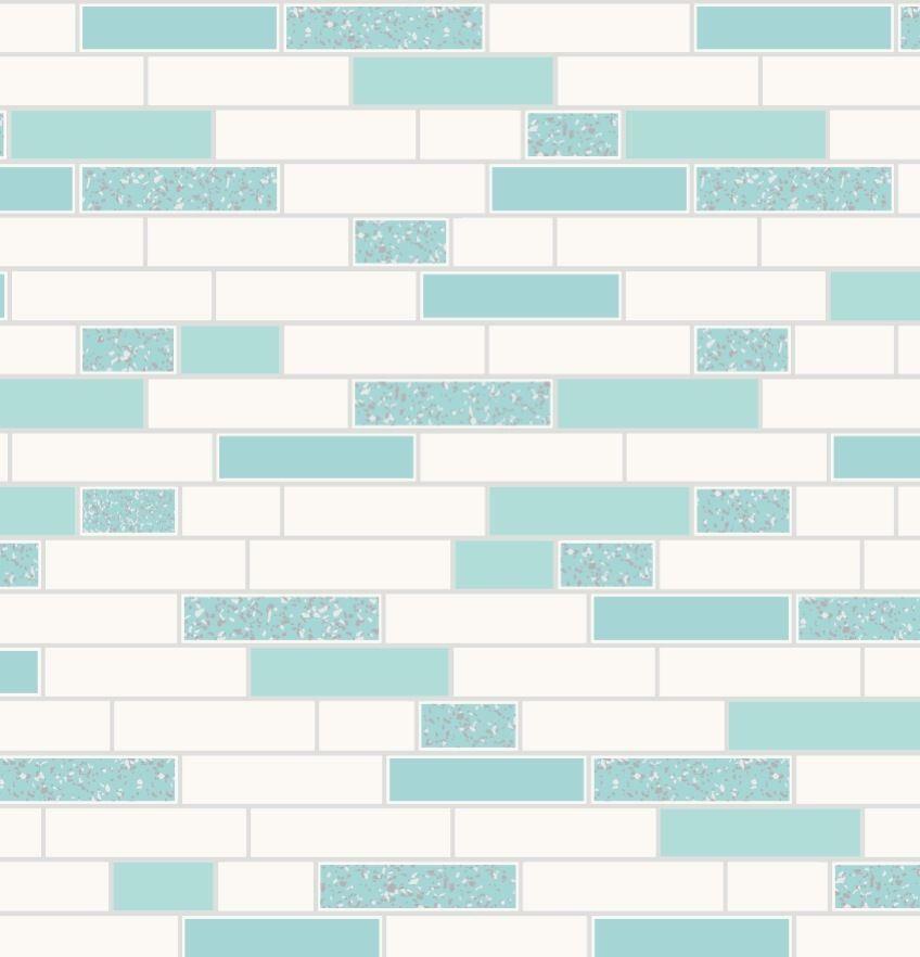 Oblong-Stone-Tile-Kitchen-Bathroom-Wallpaper-Vinyl-Silver-Glitter-Holden-Decor thumbnail 18