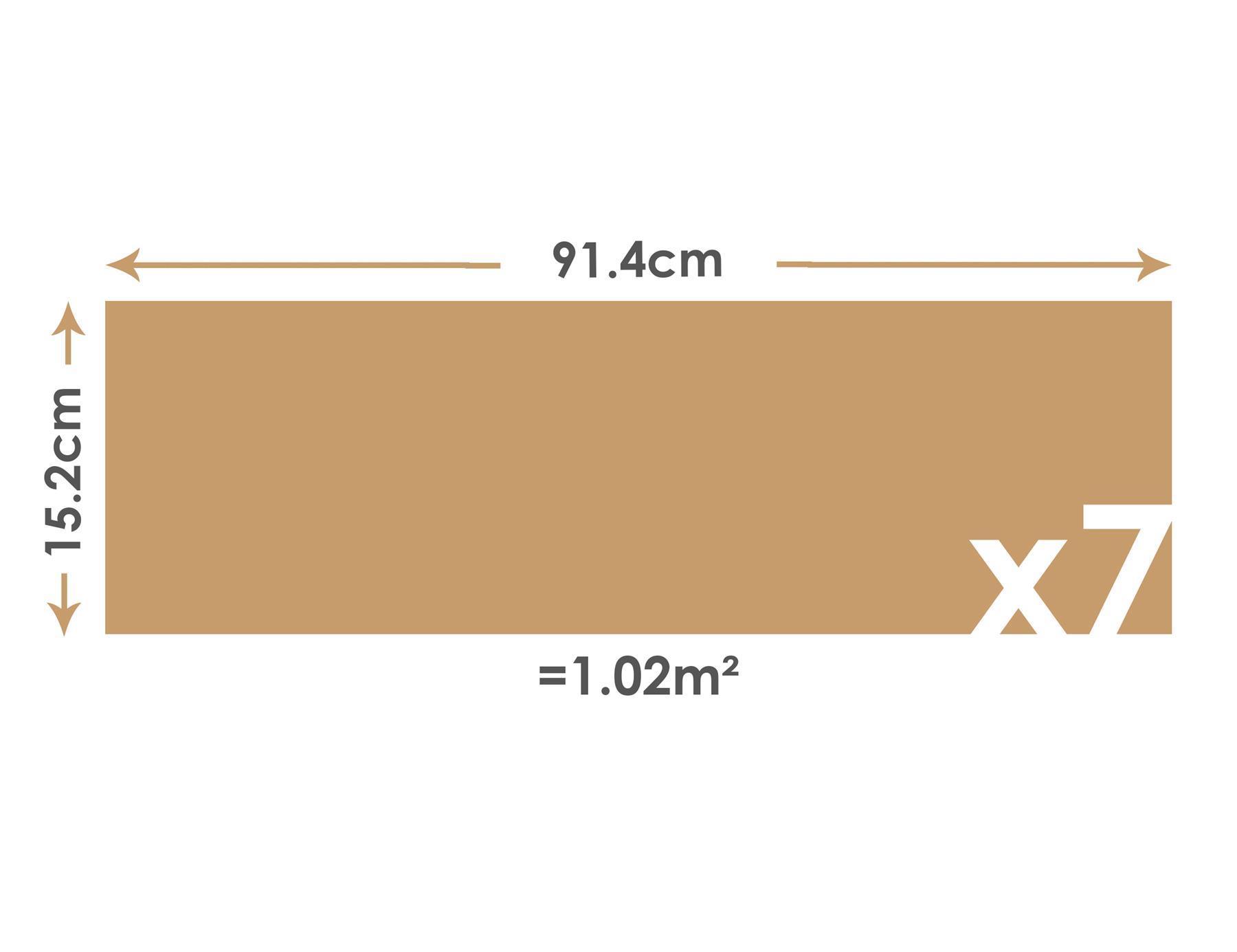 thumbnail 12 - Floor Planks Tiles Self Adhesive Vinyl Brown Wood Flooring Kitchen Bathroom