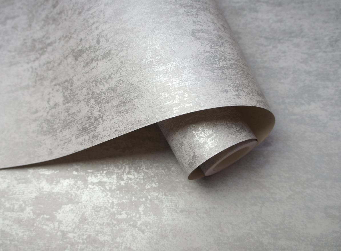 Silver Grey Wallpaper Various Designs Luxury Glitter Metallic Geometric Shiny