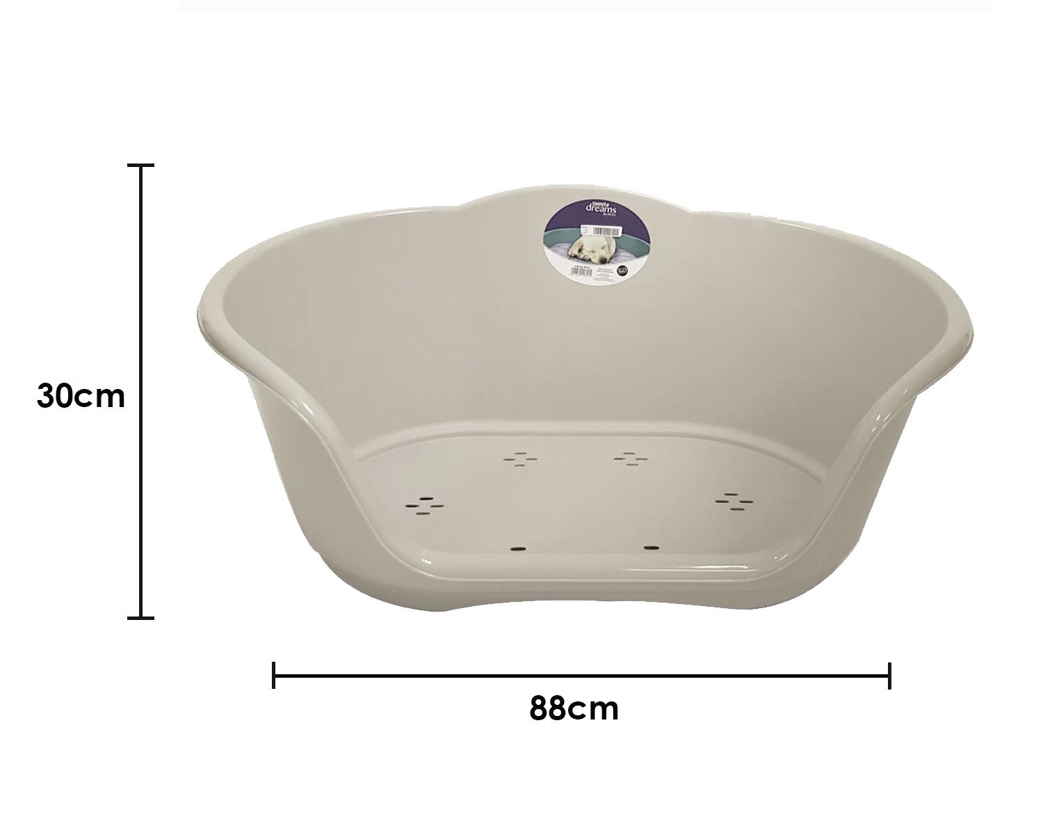thumbnail 59 - Plastic-Dog-Bed-Heavy-Duty-Waterproof-Dog-Bed-Pet-Bed-Puppy-Cat-Cushion-Basket