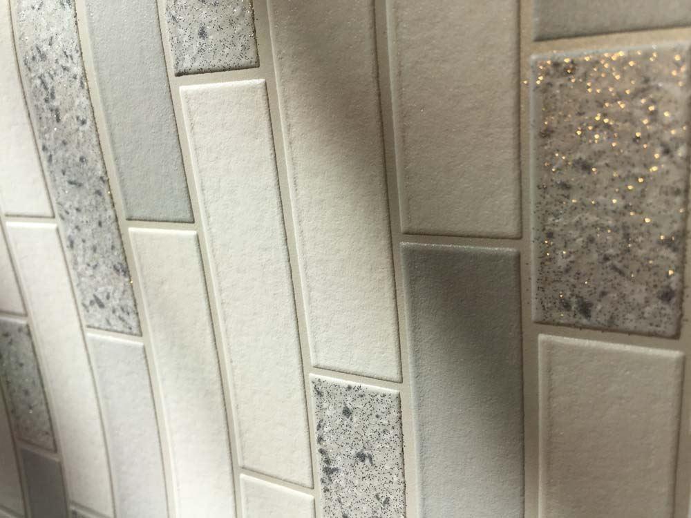 Oblong-Stone-Tile-Kitchen-Bathroom-Wallpaper-Vinyl-Silver-Glitter-Holden-Decor thumbnail 14