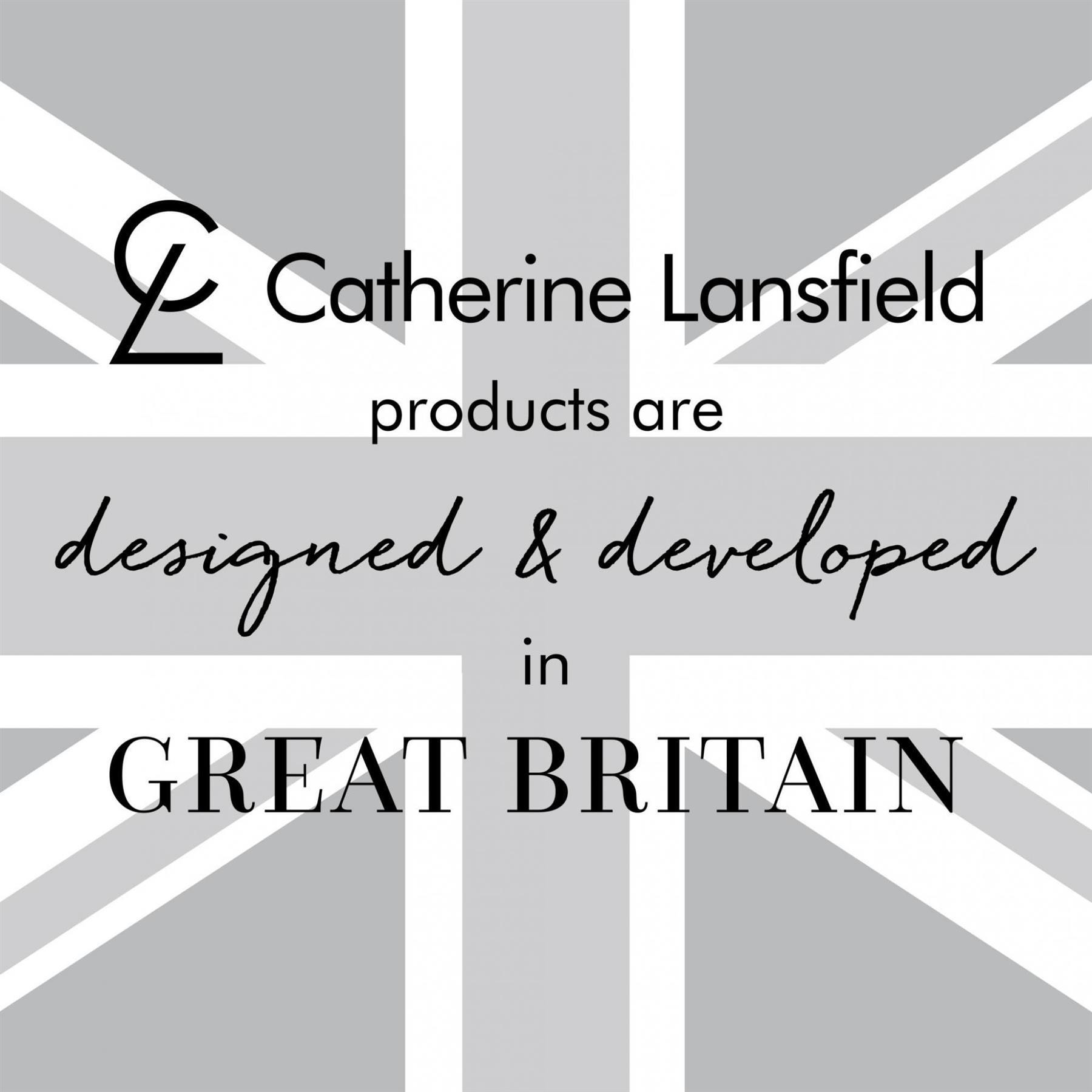 Catherine-Lansfield-biancheria-da-letto-Salisbury-Copripiumino-Set-Tende-Cuscino-Copriletto miniatura 7