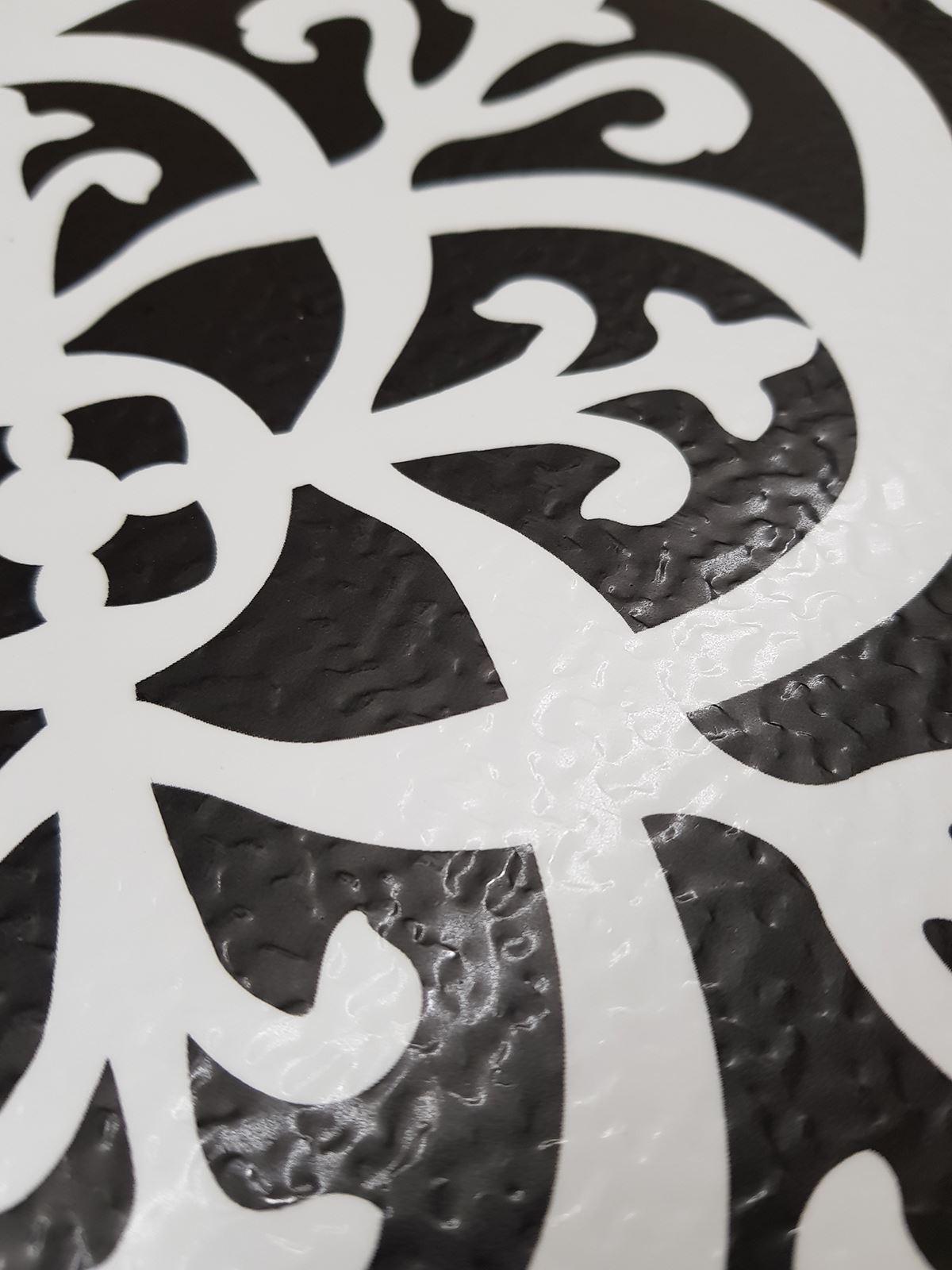 Peel Amp Stick Vinyl Floor Tiles 10pcs Marble Moroccan Floral Pattern Floorpops Ebay