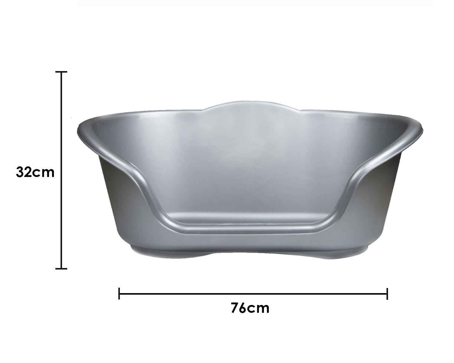 thumbnail 73 - Plastic-Dog-Bed-Heavy-Duty-Waterproof-Dog-Bed-Pet-Bed-Puppy-Cat-Cushion-Basket