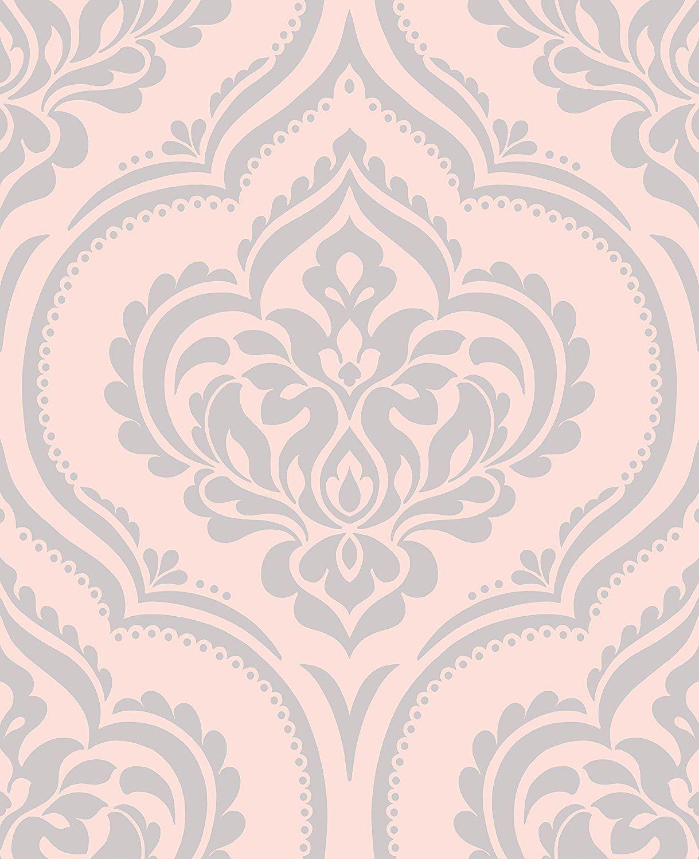 Glitter Papier Peint Damassé Uni Turquoise /& Rose Texturé Vinyle Mix n Match Muriva
