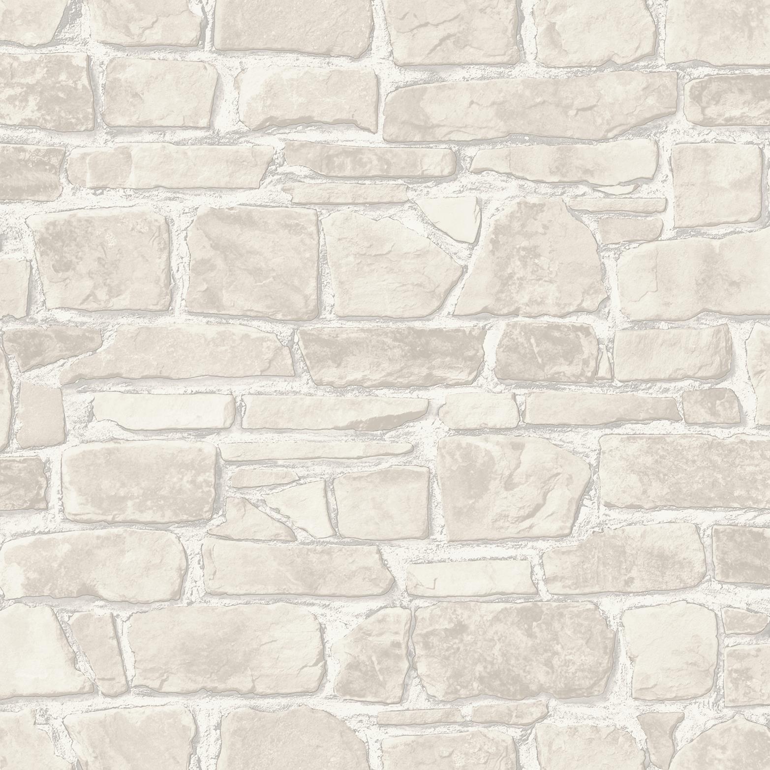 265613 Rasch Stone Effect Red Wallpaper