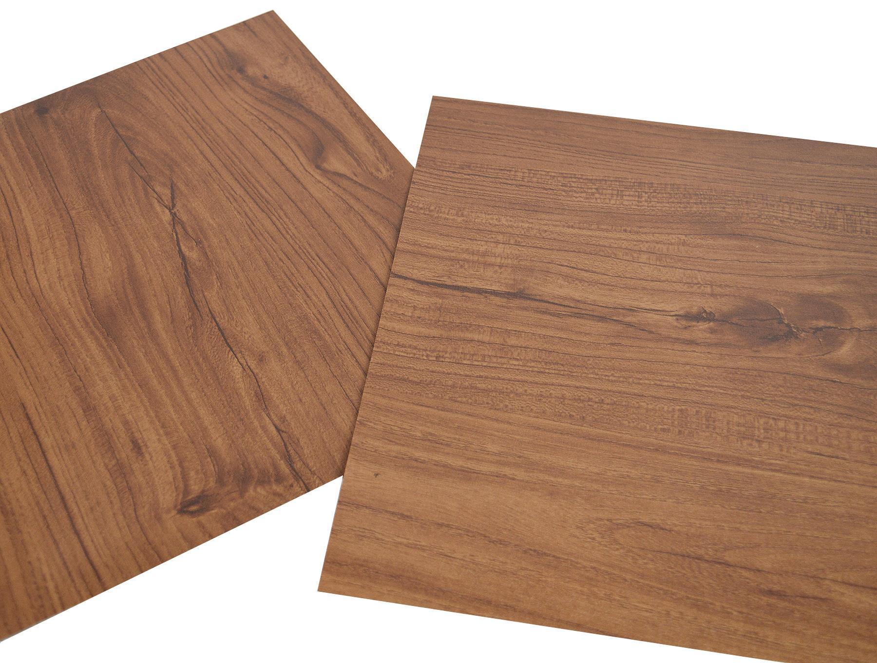 Floor-Tiles-Self-Adhesive-Vinyl-Flooring-Kitchen-Bathroom-Brown-Wood-Grain thumbnail 4