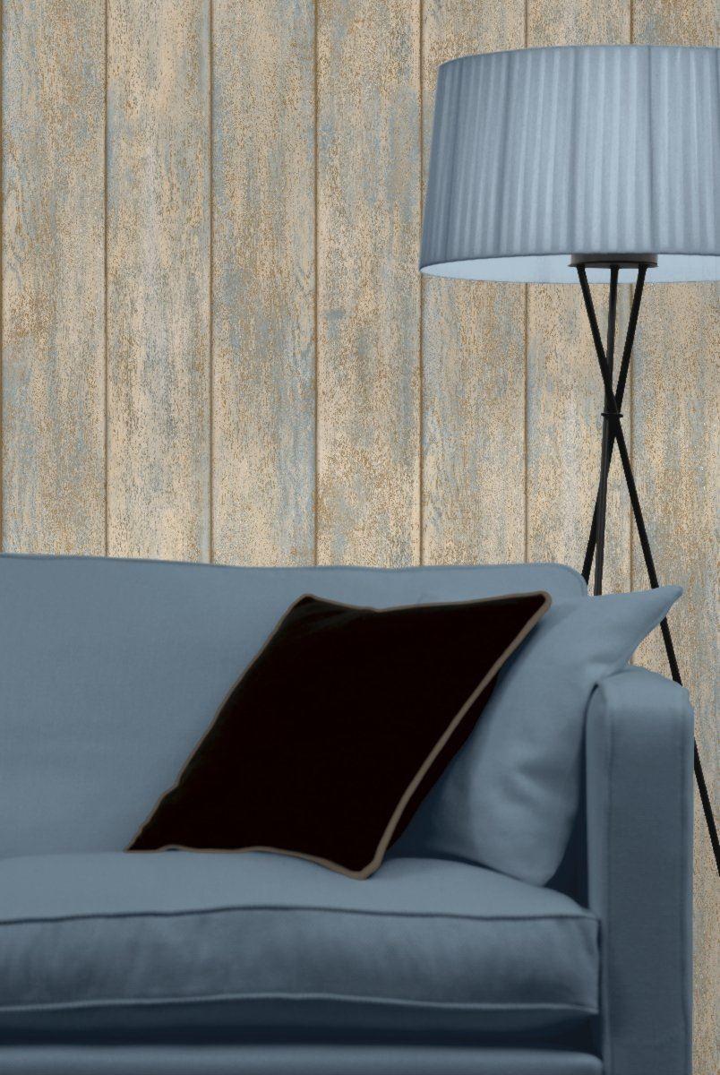 Wood-Effect-Wallpaper-Grains-Boards-Planks-Paste-The-Wall-Vinyl-Koziel-3-Colours thumbnail 5