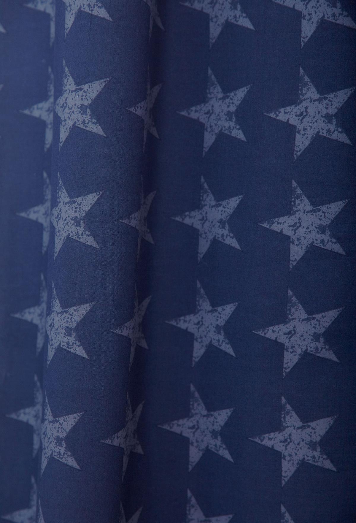 Stars And Stripes Catherine Lansfield Duvet Set Reversible Bedding Spread Kids