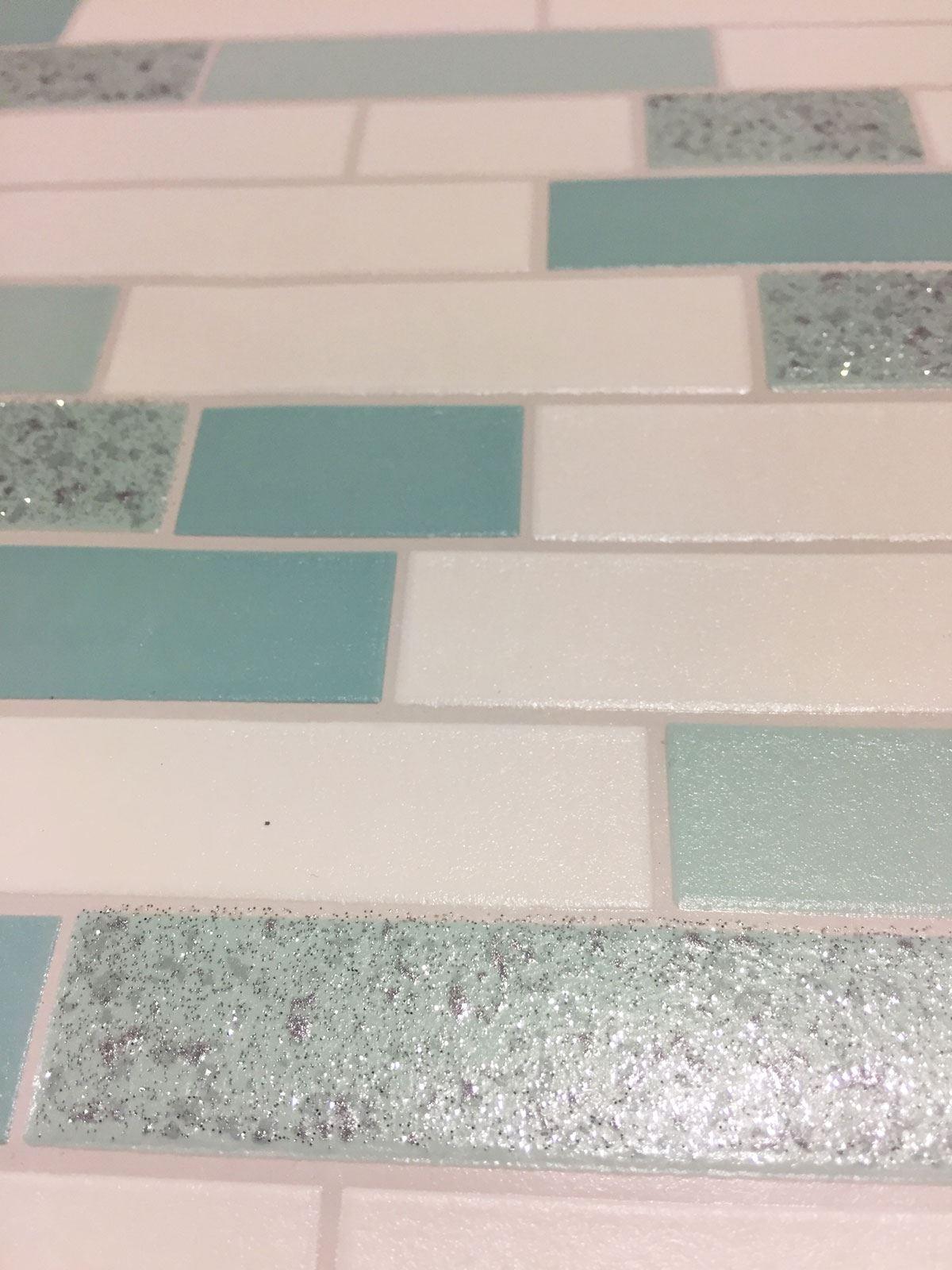 Oblong-Stone-Tile-Kitchen-Bathroom-Wallpaper-Vinyl-Silver-Glitter-Holden-Decor thumbnail 17