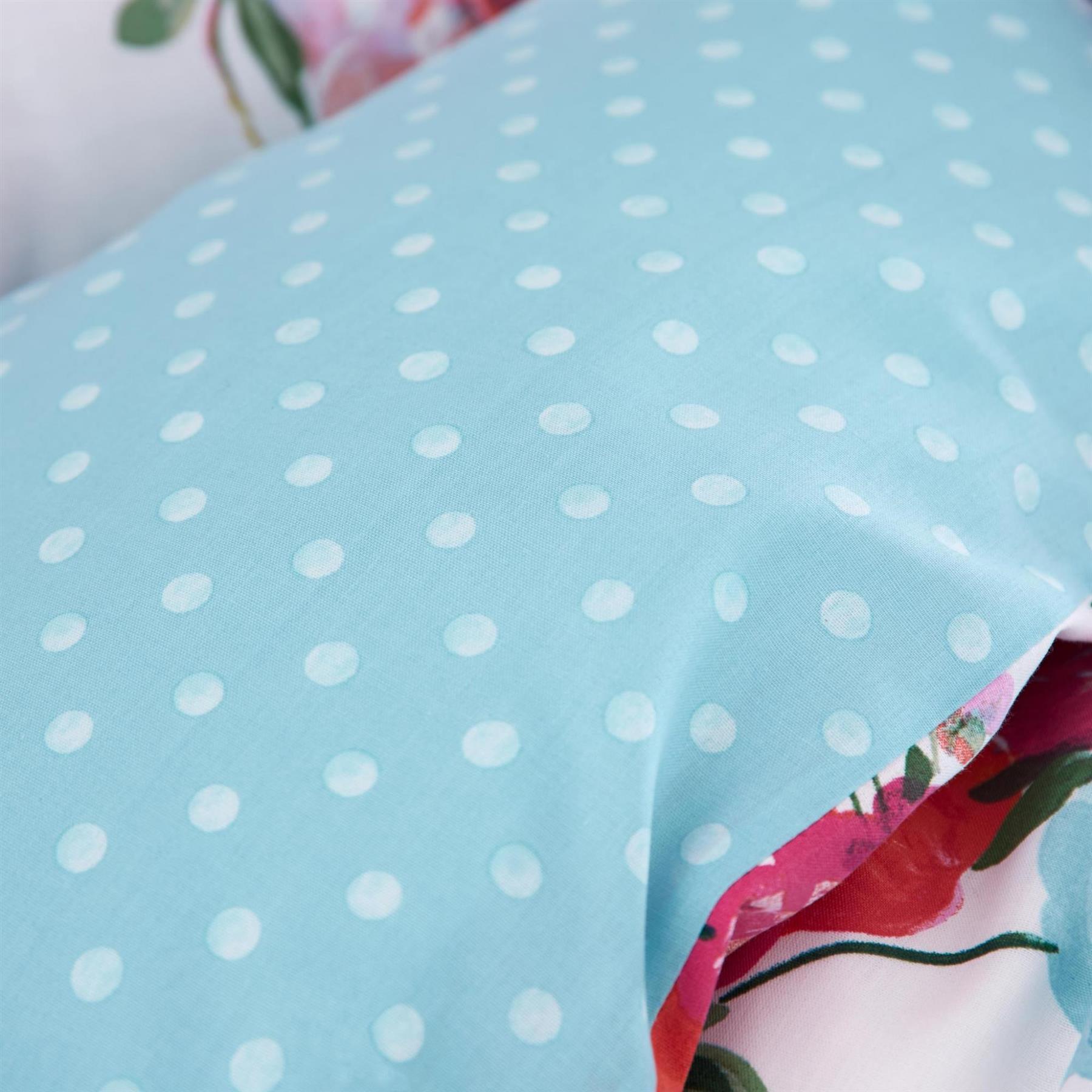 Catherine-Lansfield-biancheria-da-letto-Salisbury-Copripiumino-Set-Tende-Cuscino-Copriletto miniatura 49