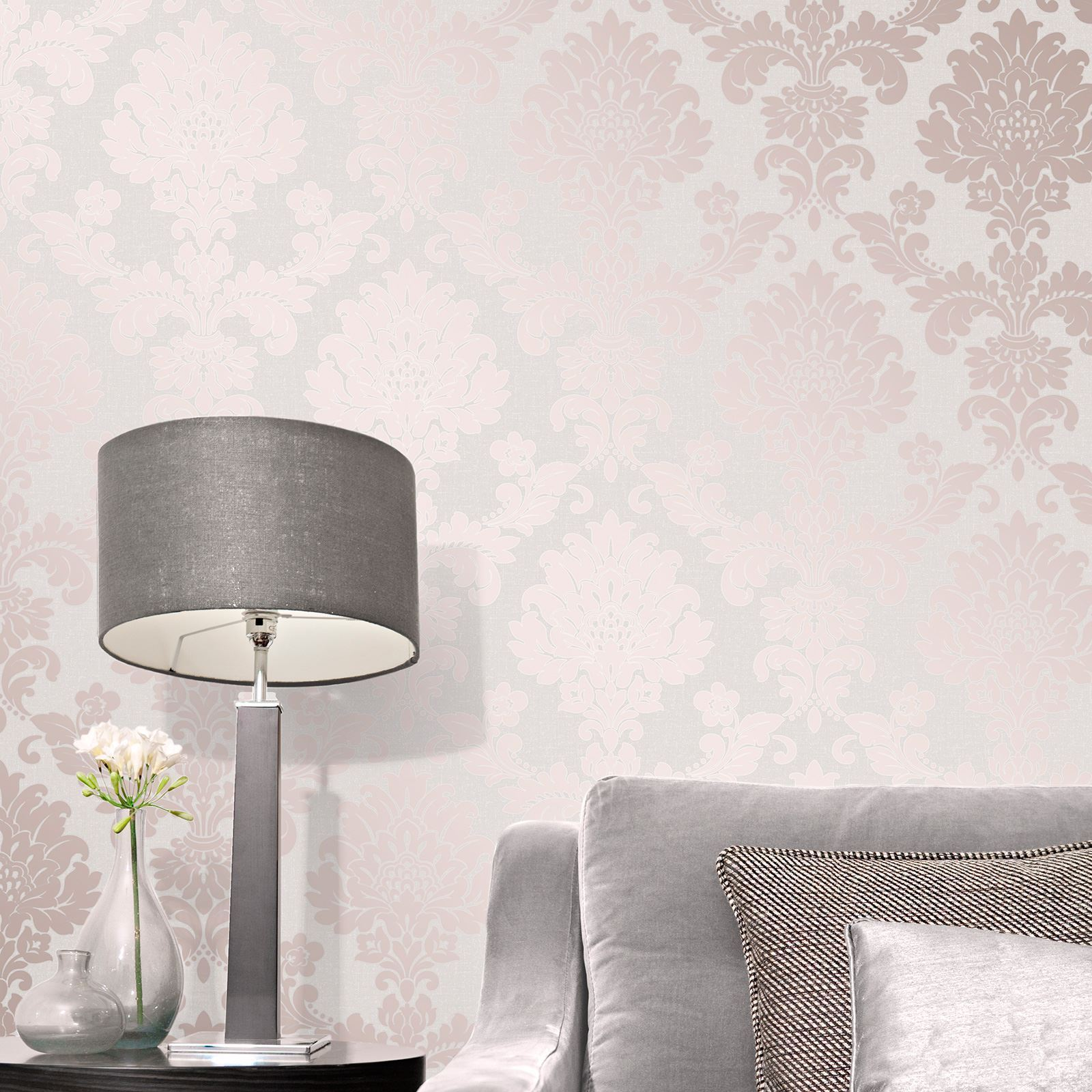 Rose gold wallpaper various designs luxury glitter effect metallic modern shiny ebay - Glitter wallpaper ideas ...